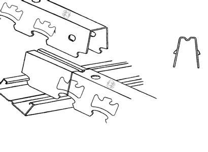 卡式龙骨与烤漆龙骨的区别-三箭轻钢龙骨的文章-企博