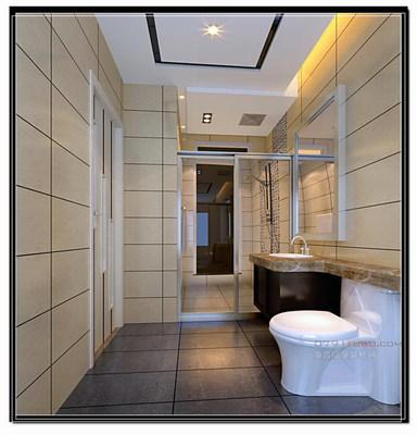卫生间淋浴室装修效果图 家庭卫生间应如何装修