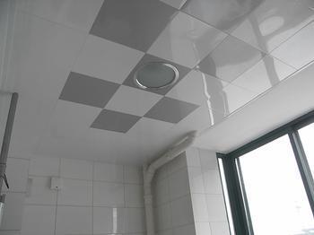 厨卫装修之选看铝扣板吊顶