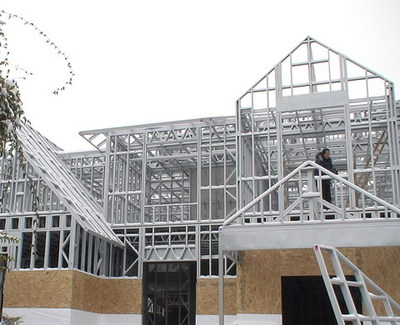 轻钢结构体系住宅主要采用的材料