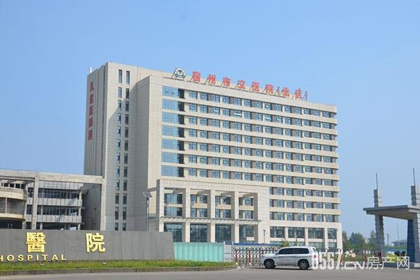 三箭龙骨案例——宿州市立医院新区